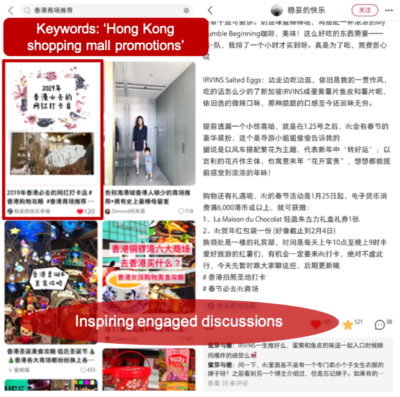 Case Studies - Drawing in more Chinese tourists to a HK shopping mall