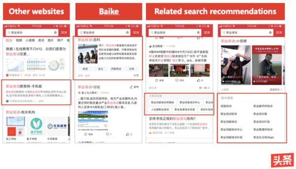 Toutiao-Integrated Search