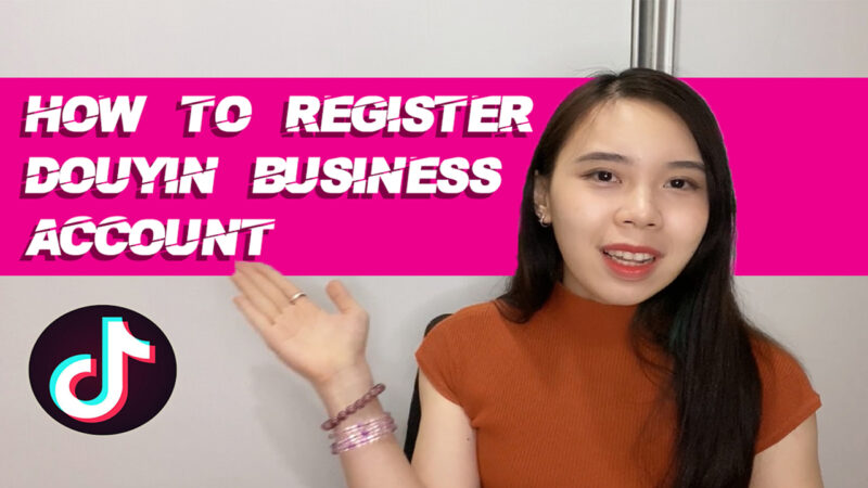 How to Register Douyin Business Account l OctoPlus Media